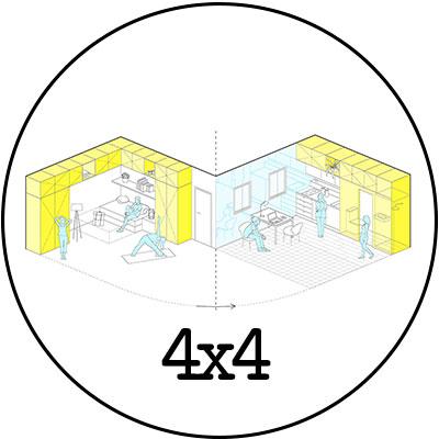 i! idoia otegui arquitectura reforma vivienda rehabilitacion lavapies madrid 4x4 logo