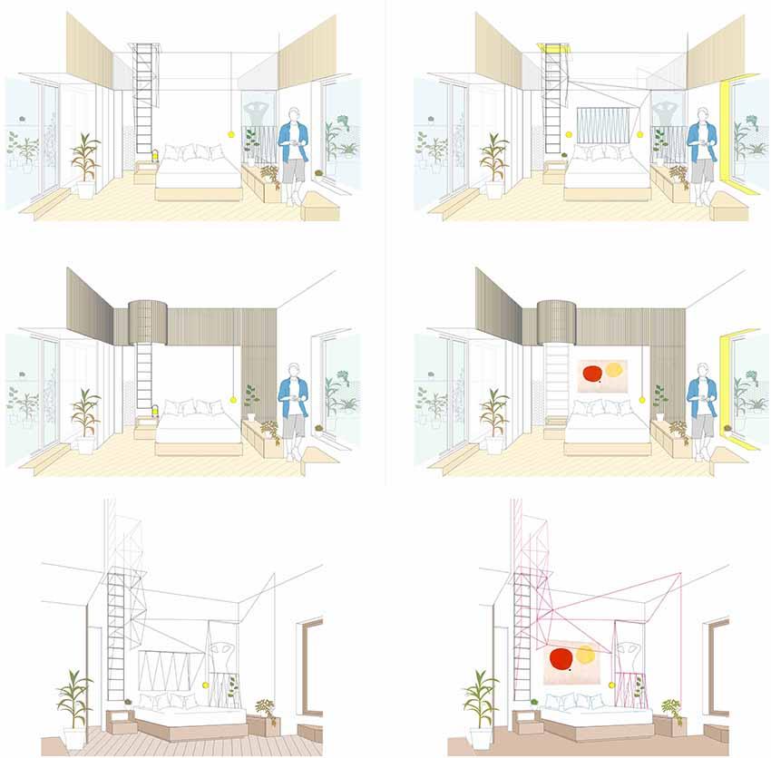 idoiaotegui-arquitectura-reforma-rehabilitacion-cupula-vivienda-santa engracia dormitorio 3