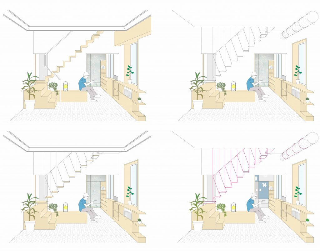idoiaotegui-arquitectura-reforma-rehabilitacion-cupula-vivienda-santa engracia gabinete
