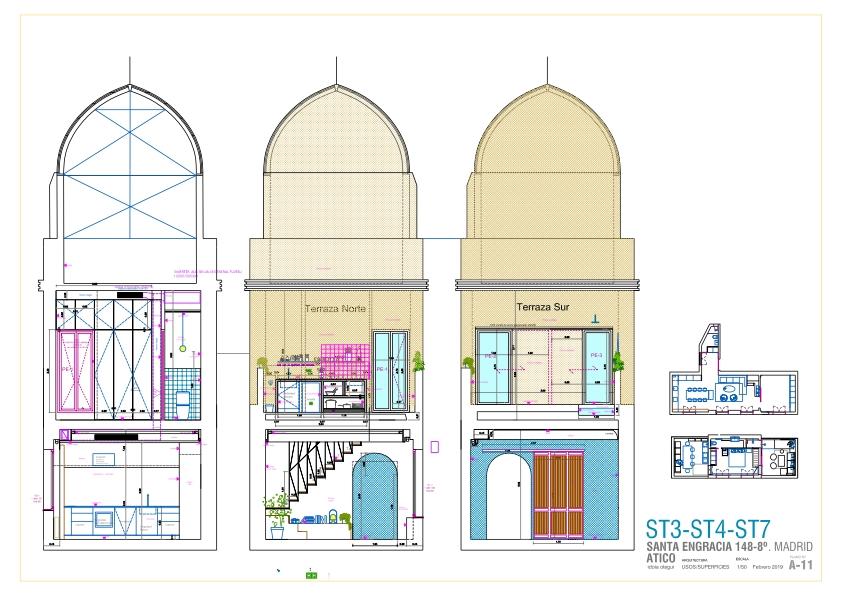 idoiaotegui-iotegui-arquitectura-reforma-vivienda-rehabilitacion-cupula-dome-santa-engracia-madrid-plano 10