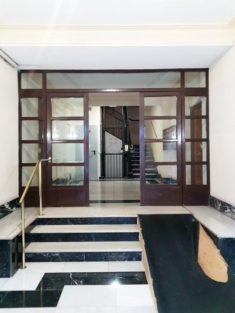 idoia otegui arquitectura reforma vivienda rehabilitacion portal barrio salamanca madrid 8