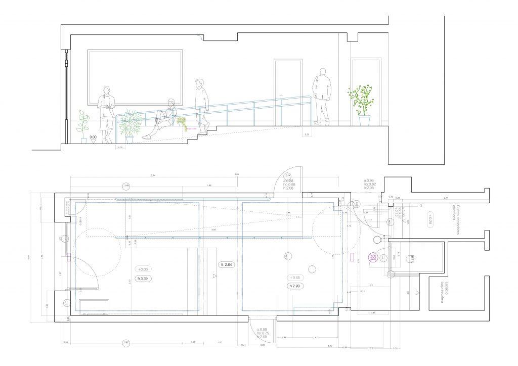 idoia otegui arquitectura reforma vivienda rehabilitacion portal barrio salamanca madrid 5