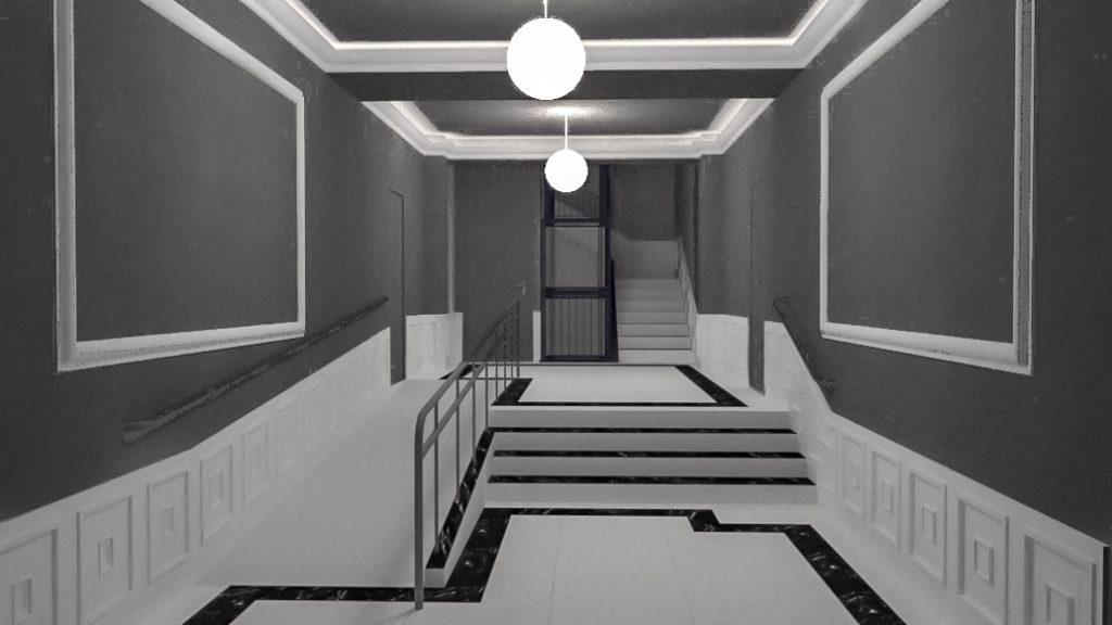 idoia otegui arquitectura reforma vivienda rehabilitacion portal barrio salamanca madrid 12