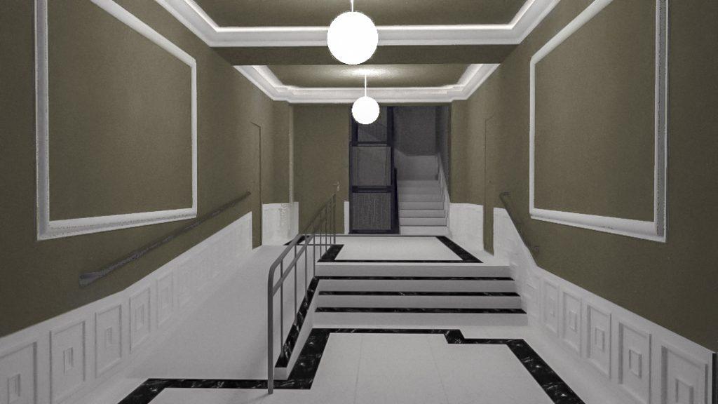 idoia otegui arquitectura reforma vivienda rehabilitacion portal barrio salamanca madrid 13