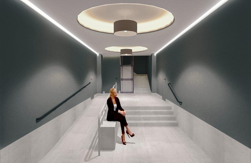 idoia otegui arquitectura reforma vivienda rehabilitacion portal barrio salamanca madrid