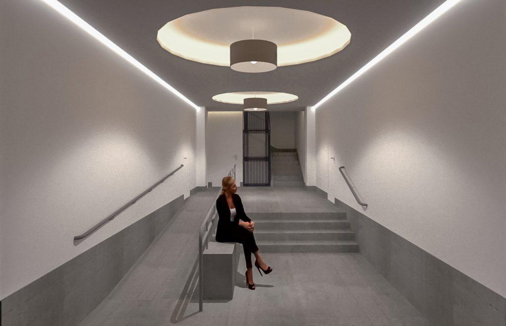 idoia otegui arquitectura reforma vivienda rehabilitacion portal barrio salamanca madrid 2