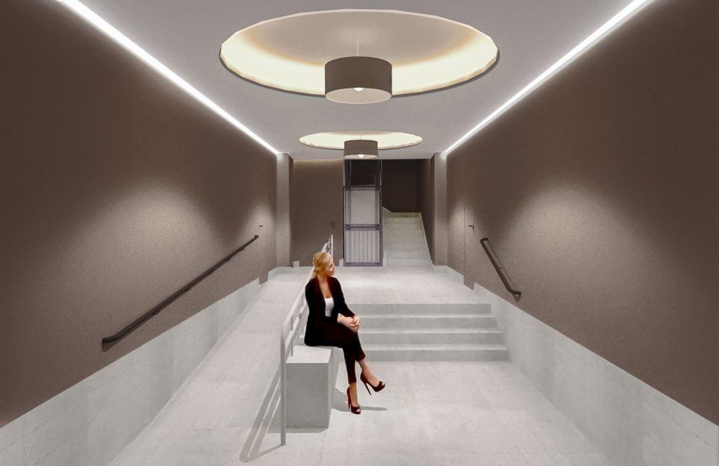idoia otegui arquitectura reforma vivienda rehabilitacion portal barrio salamanca madrid 3