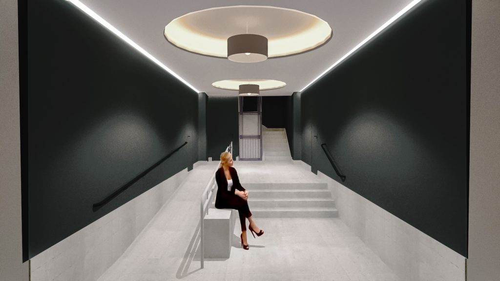 idoia otegui arquitectura reforma vivienda rehabilitacion portal barrio salamanca madrid 4