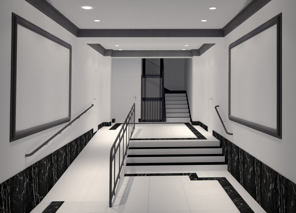 idoia otegui arquitectura reforma vivienda rehabilitacion portal barrio salamanca madrid 6