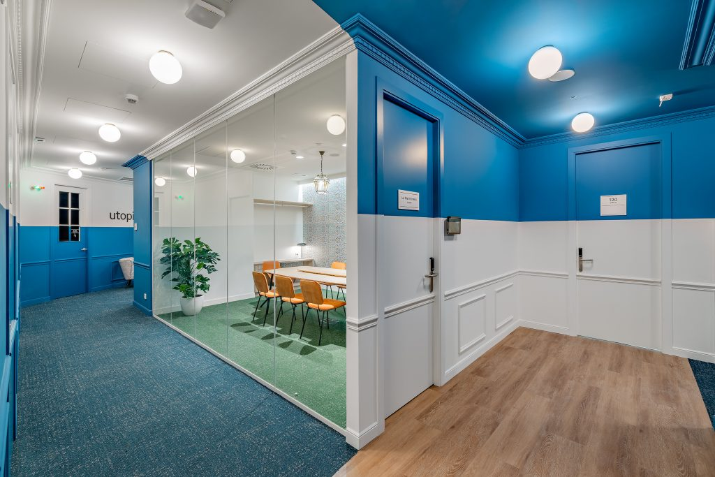 idoia otegui utopicus coworking oficina flexible arquitectura reforma madrid francisco silvela 6
