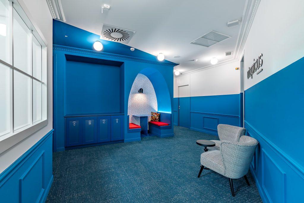 idoia otegui utopicus coworking oficina flexible arquitectura reforma madrid francisco silvela 9