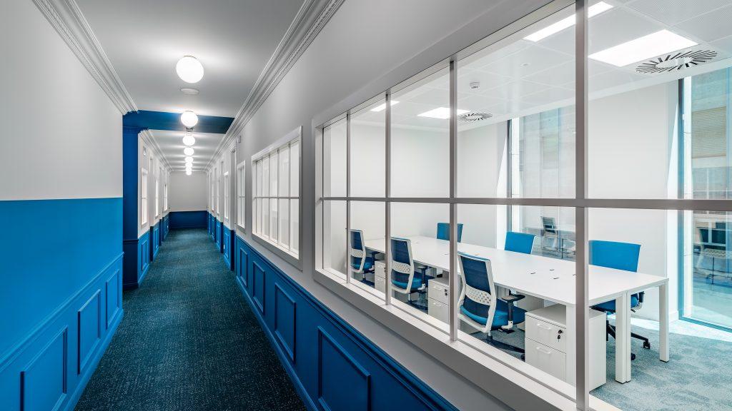 idoia otegui utopicus coworking oficina flexible arquitectura reforma madrid francisco silvela 10