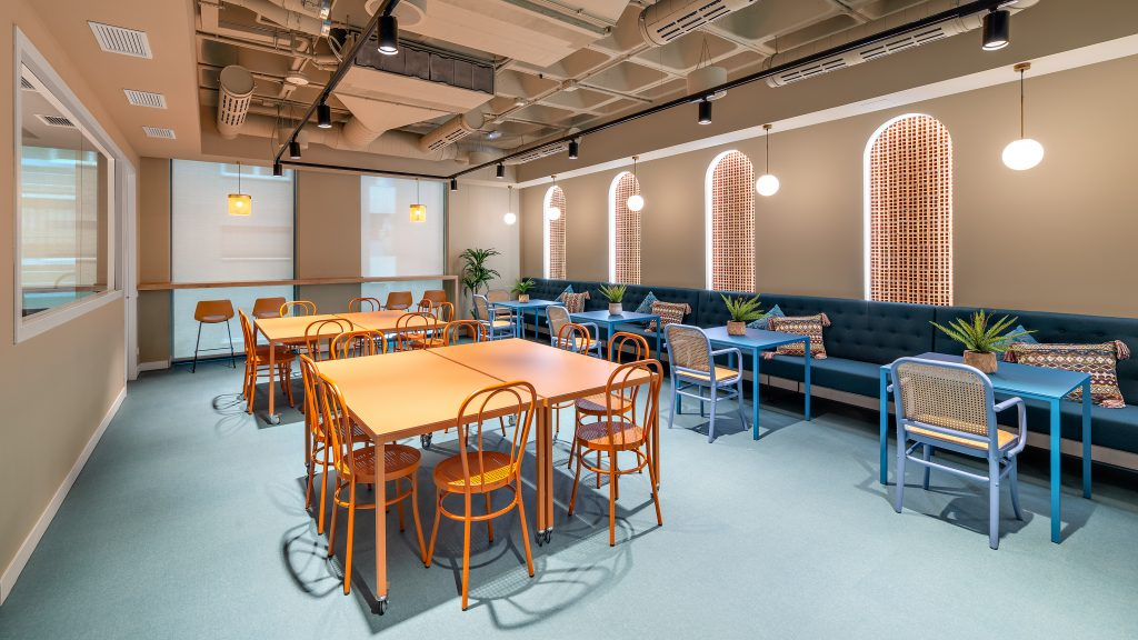 idoia otegui utopicus coworking oficina flexible arquitectura reforma madrid francisco silvela 14