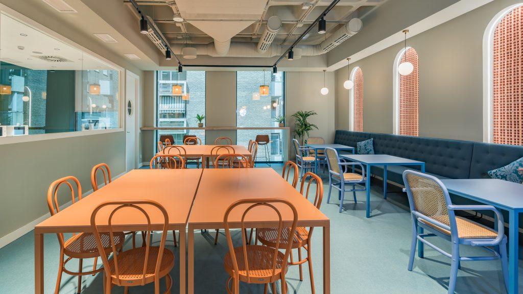 idoia otegui utopicus coworking oficina flexible arquitectura reforma madrid francisco silvela 22