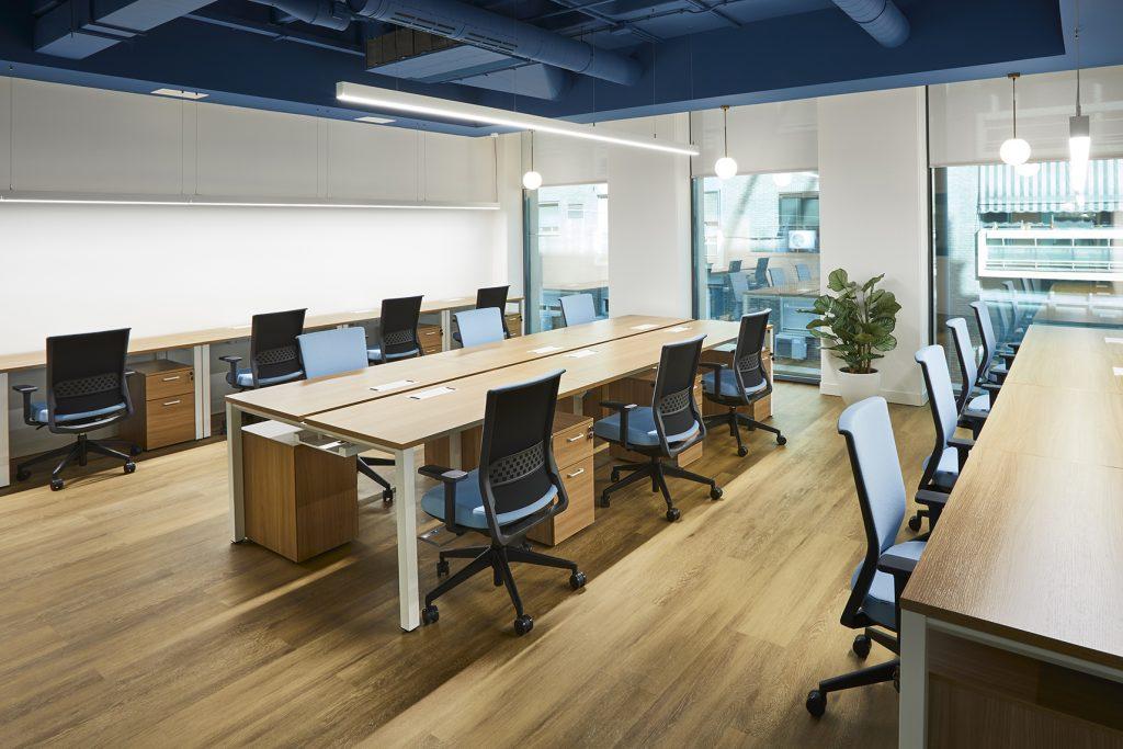 idoia otegui utopicus coworking oficina flexible arquitectura reforma madrid francisco silvela 56