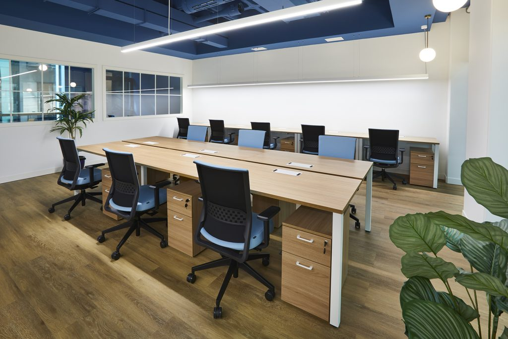 idoia otegui utopicus coworking oficina flexible arquitectura reforma madrid francisco silvela 57