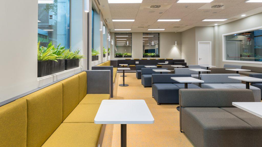 idoia otegui utopicus coworking oficina flexible arquitectura reforma madrid francisco silvela 39