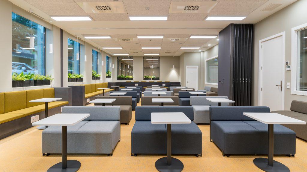 idoia otegui utopicus coworking oficina flexible arquitectura reforma madrid francisco silvela 38