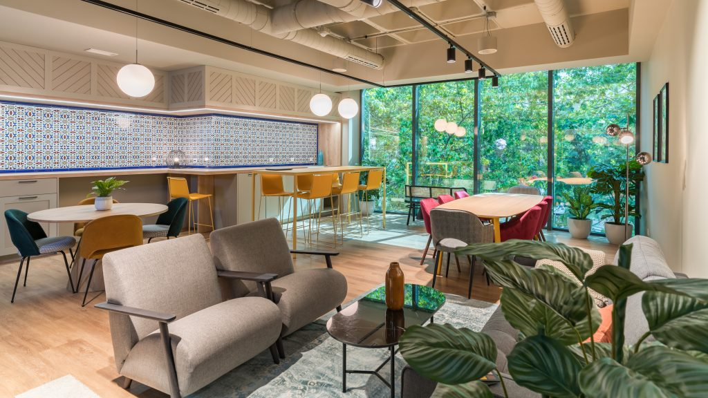 idoia otegui utopicus coworking oficina flexible arquitectura reforma madrid francisco silvela 26
