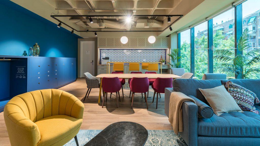 idoia otegui utopicus coworking oficina flexible arquitectura reforma madrid francisco silvela 27