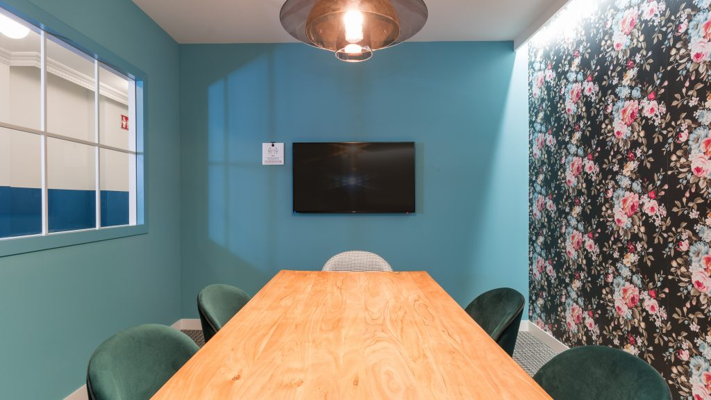 idoia otegui utopicus coworking oficina flexible arquitectura reforma madrid francisco silvela 41