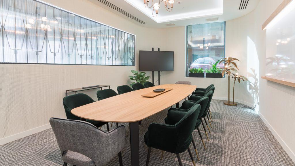 idoia otegui utopicus coworking oficina flexible arquitectura reforma madrid francisco silvela 47