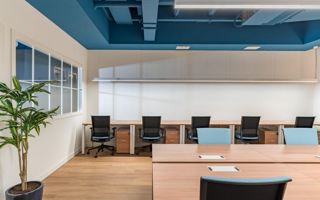 idoia otegui utopicus coworking oficina flexible arquitectura reforma madrid francisco silvela 48