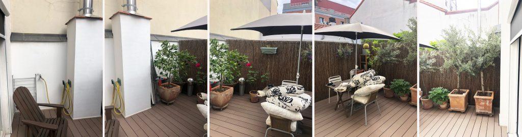 idoia otegui arquitectura terraza atico ducha exterior reforma rehabilitacion san bernardino madrid 3