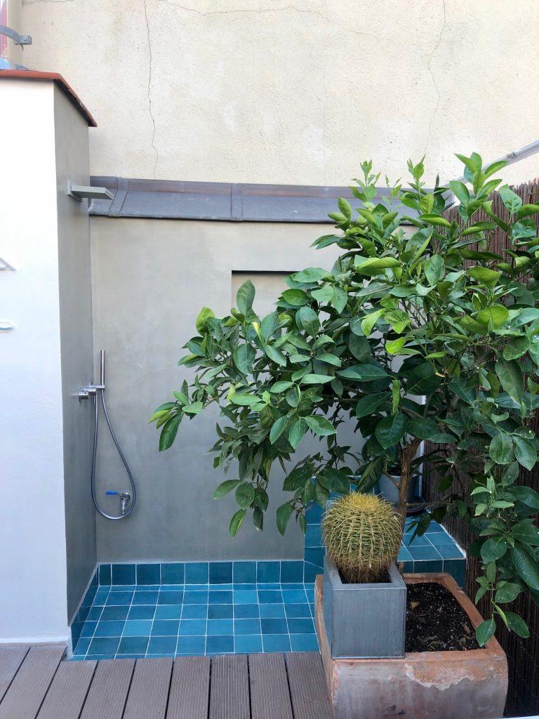 idoia otegui arquitectura terraza atico ducha exterior reforma rehabilitacion san bernardino madrid 6