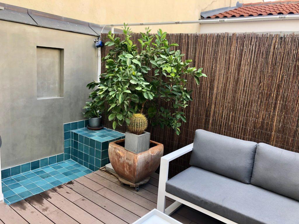 idoia otegui arquitectura terraza atico ducha exterior reforma rehabilitacion san bernardino madrid 12