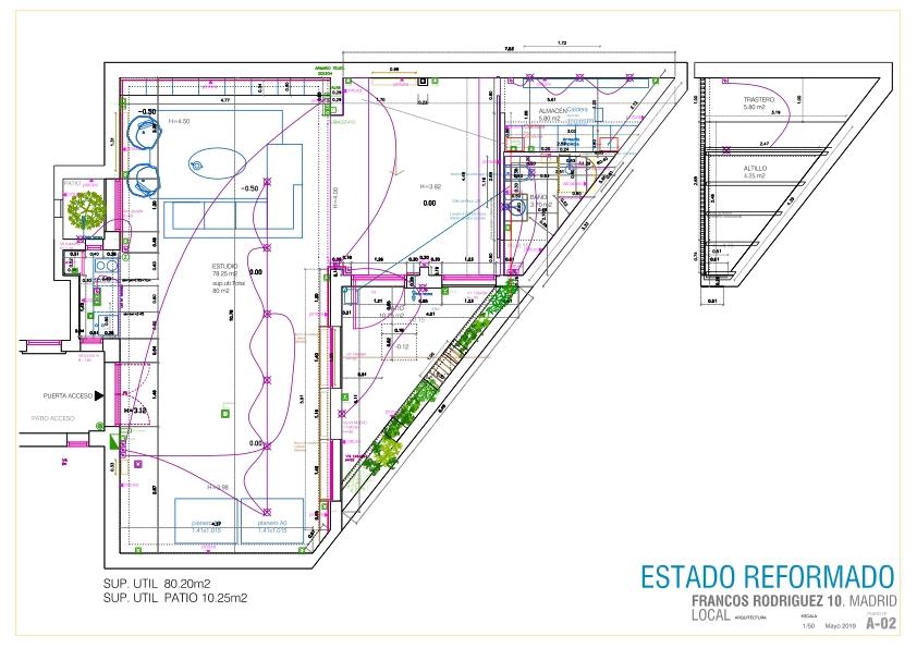 idoia otegui chema madoz estudio fotografia reforma rehabilitación arquitectura planta