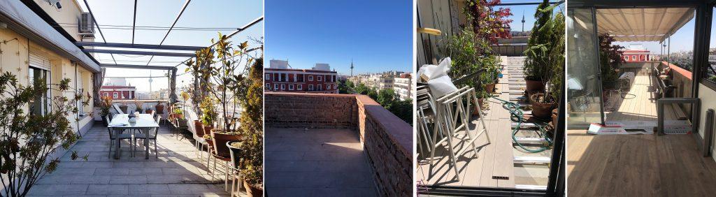 idoia otegui arquitectura ático francisco silvela reforma rehabilitación terraza 2