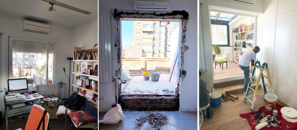 idoia otegui arquitectura ático francisco silvela reforma rehabilitación terraza 6