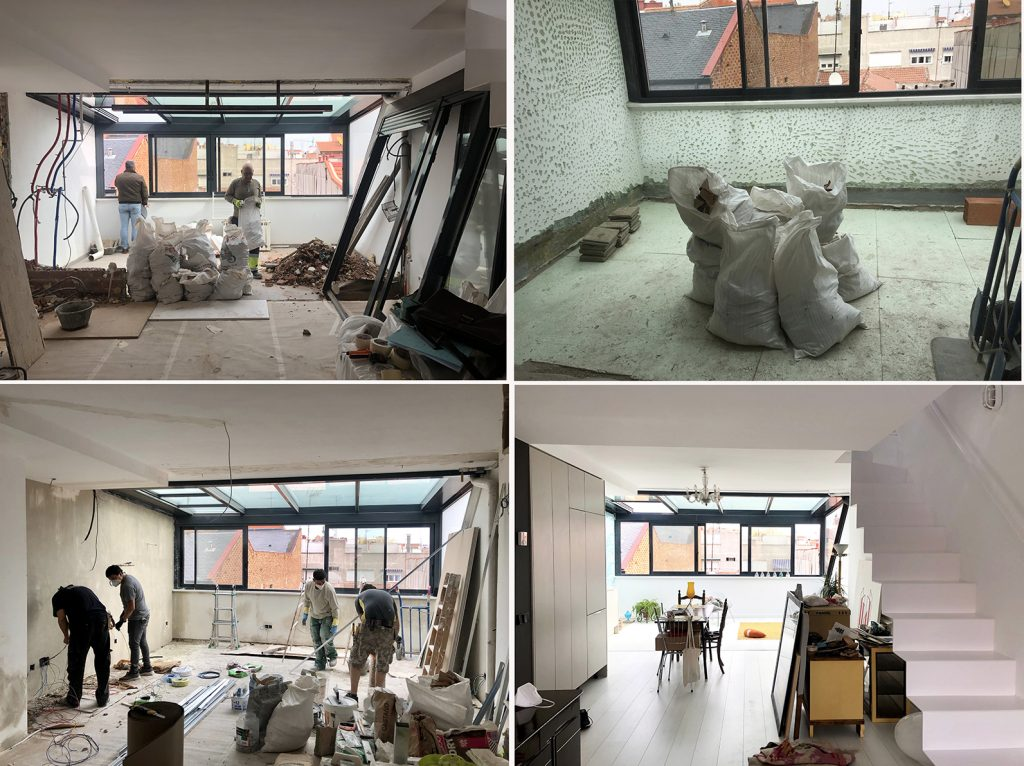 idoia otegui arquitectura reforma atico rehabilitacion tetuan alvarado casa E 4