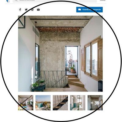 otegui plataforma de arquitectura home DOME ARQUITECTURA REFORMA VIVIENDA MADRID CUPULA